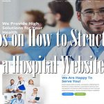 Tips on How to Structure a Hospital Website
